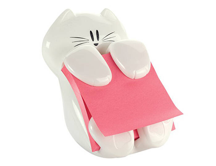 Kitty Note Dispenser - http://coolthings.us