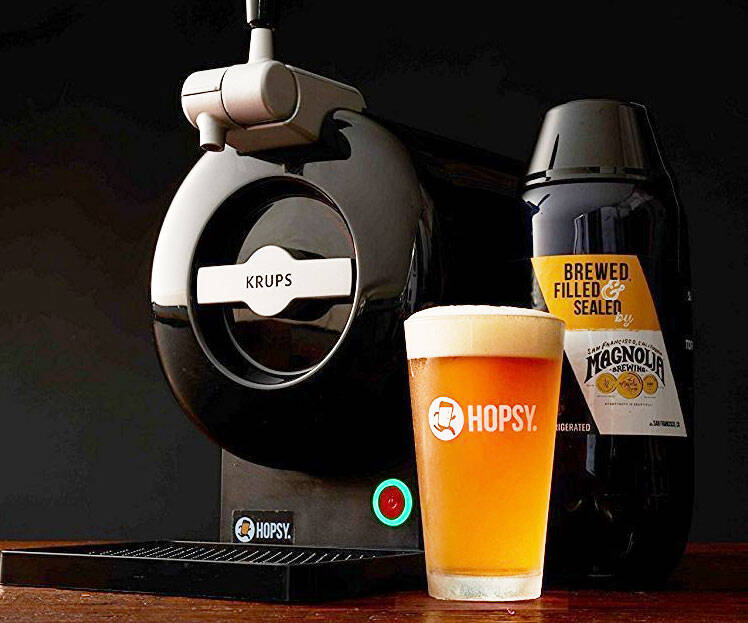 Craft Beer Home Tap Machine - http://coolthings.us