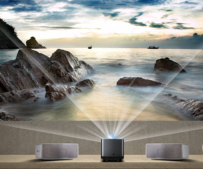 LG Ultra Short Throw Smart Home Theater Projector - http://coolthings.us