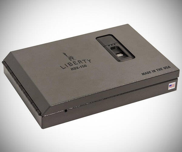 Liberty MICRO Biometric Safe - http://coolthings.us