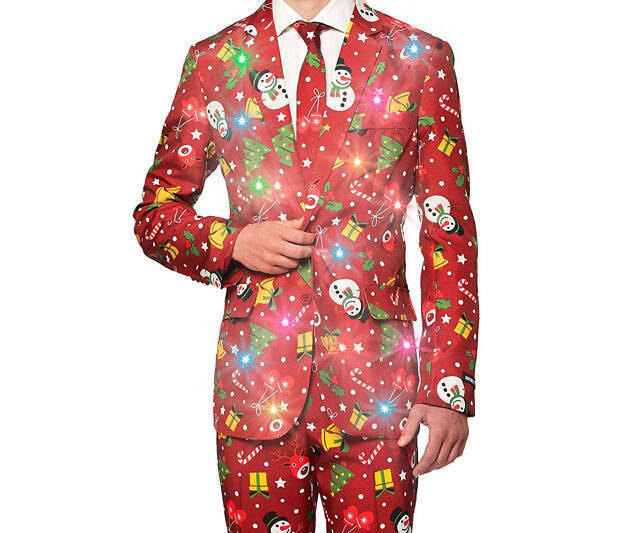 Light Up Christmas Suit - coolthings.us