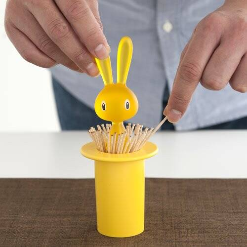 Magic Bunny Toothpick Holder - http://coolthings.us