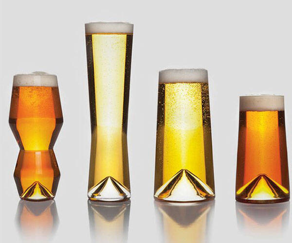Monti Birra Beer Glasses - http://coolthings.us
