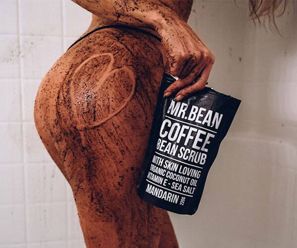 Organic Coffee Bean Scrub - coolthings.us