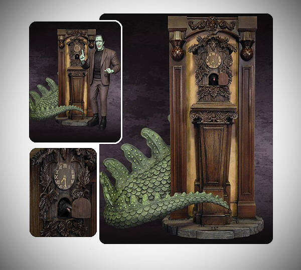 Munsters Nevermore Cuckoo Clock - http://coolthings.us