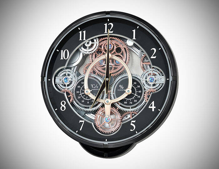 Musical Motion Wall Clock - http://coolthings.us