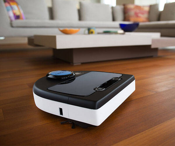 Neato Robotic Vacuum Cleaner - http://coolthings.us