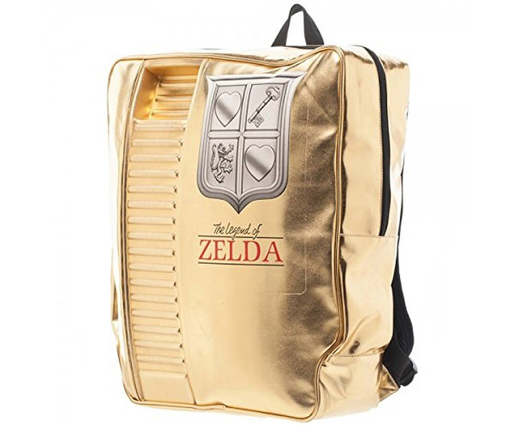Nintendo The Legend of Zelda Cartridge Backpack - http://coolthings.us