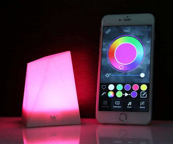 Notti App Enabled Smart Light - http://coolthings.us