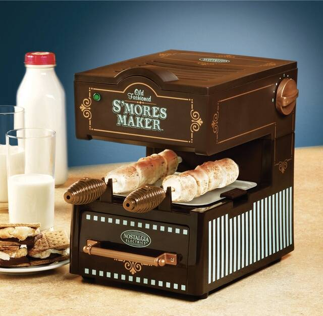 Old Fashioned Smores Maker - http://coolthings.us