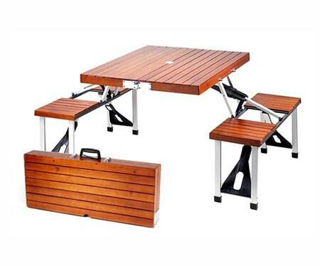 Suit Case Picnic Table - http://coolthings.us