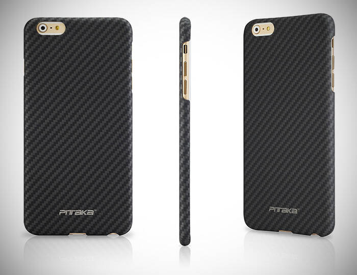 Pitaka Aramid Fibre Case For iPhone 6 Plus - http://coolthings.us