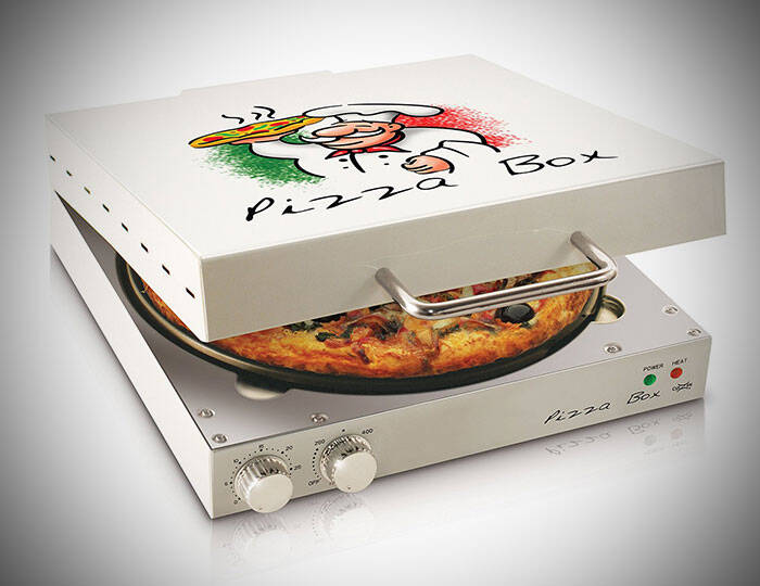 Pizza Box Oven - http://coolthings.us