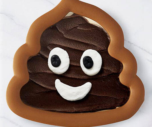 Poop Swirl Cookie Cutter - http://coolthings.us