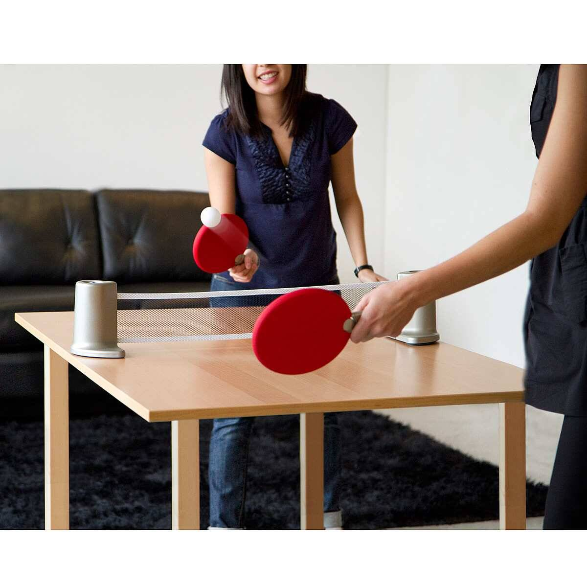 Portable Ping Pong Set - http://coolthings.us