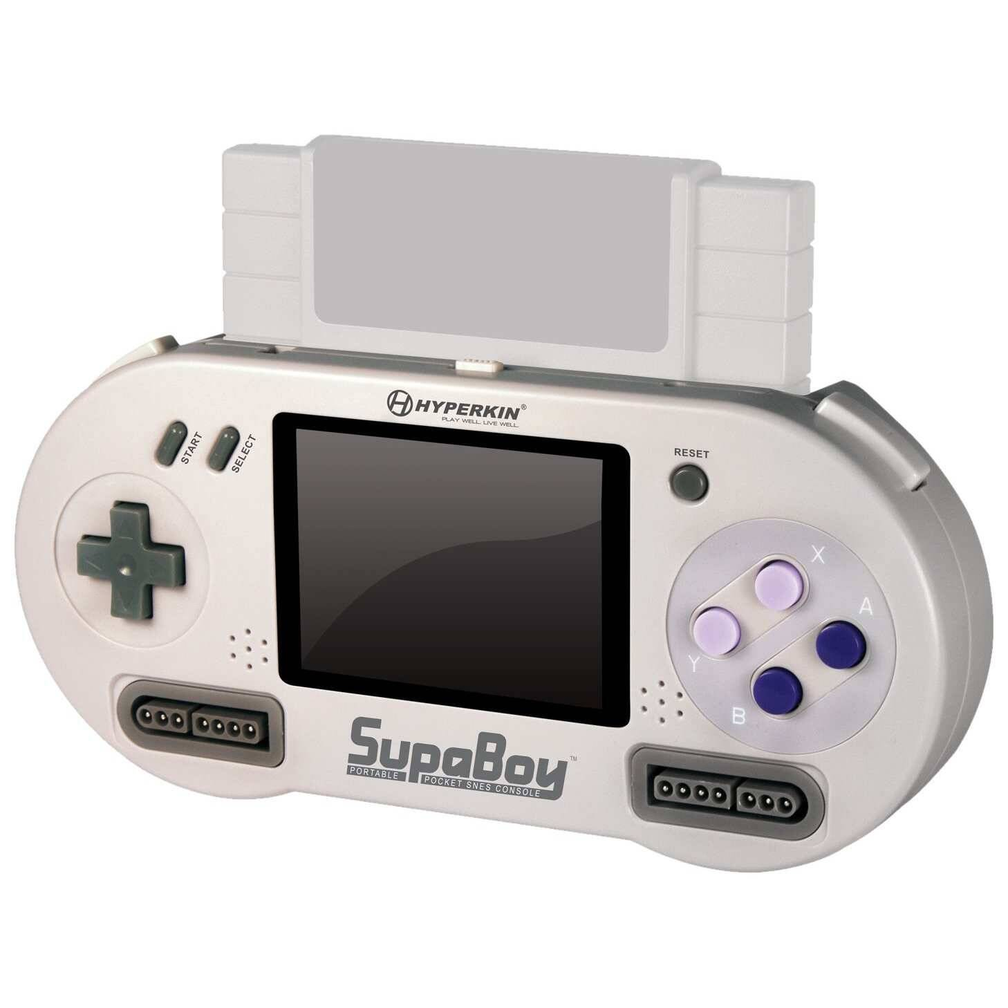 Portable Super Nintendo Player - http://coolthings.us