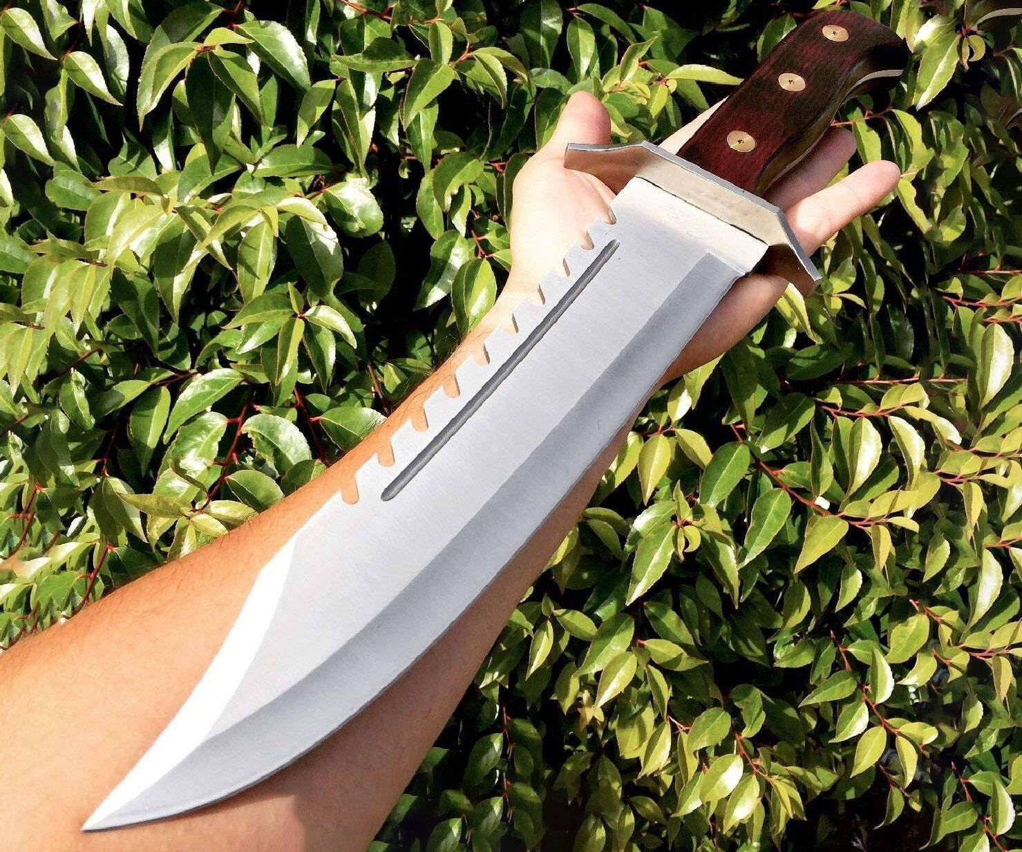 Rambo Bowie Tactical Survival Knife - http://coolthings.us