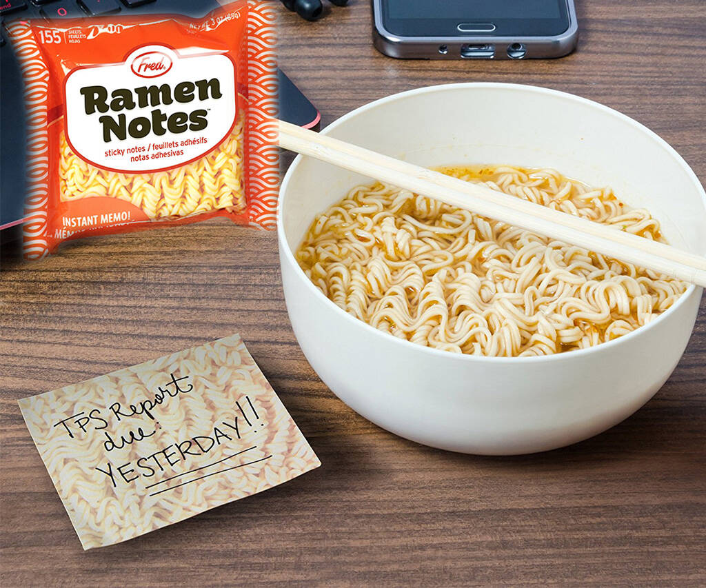 Ramen Sticky Notes - http://coolthings.us
