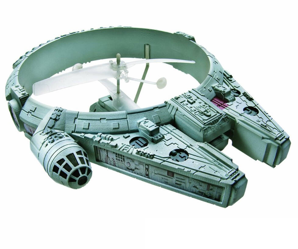R/C Millennium Falcon - http://coolthings.us