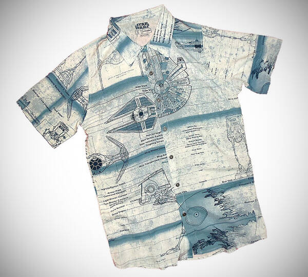 Star Wars Hawaiian Shirt - http://coolthings.us