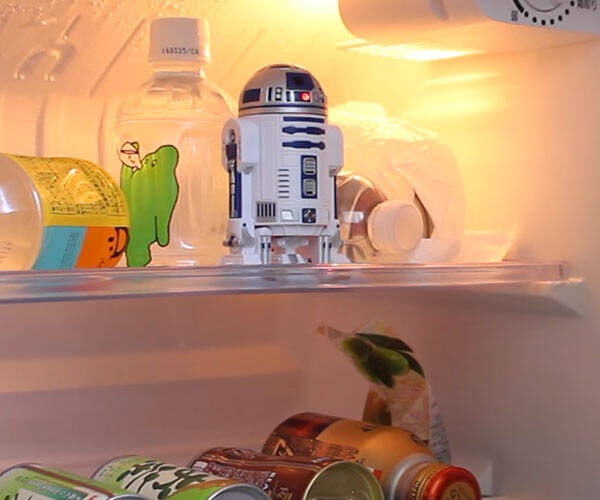 Star Wars R2-D2 Talking Fridge Gadget - http://coolthings.us