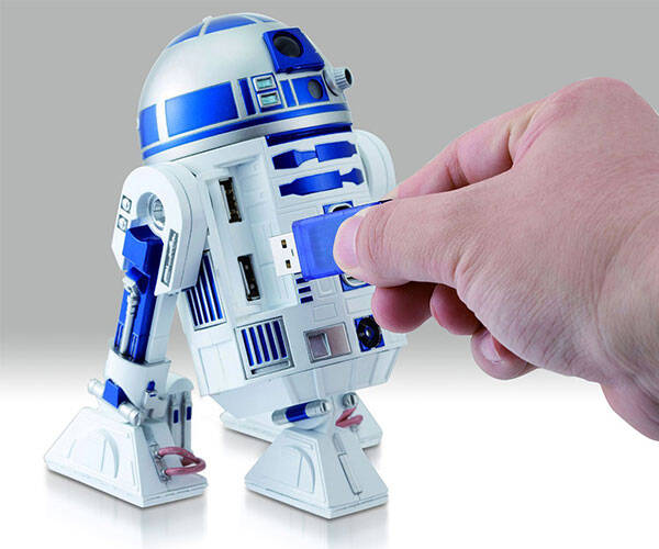 Star Wars R2-D2 USB Hub - http://coolthings.us