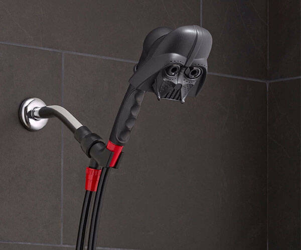 Star Wars Darth Vader Showerhead - http://coolthings.us