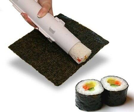 Sushi Bazooka Roller - http://coolthings.us