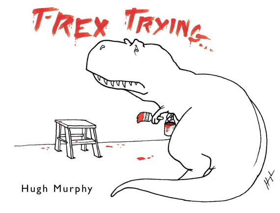 T-Rex Trying Book - http://coolthings.us