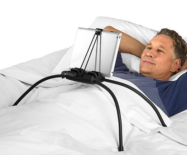 Tablift Tablet Stand for the Bed - http://coolthings.us