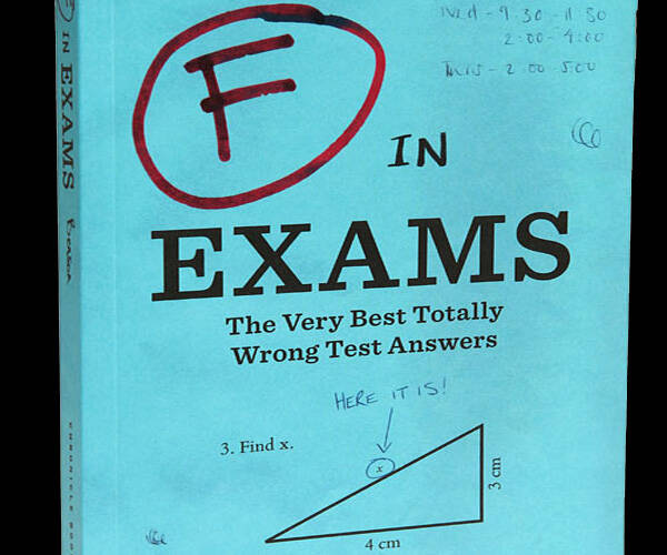 The Best Wrong Test Answers Book - http://coolthings.us
