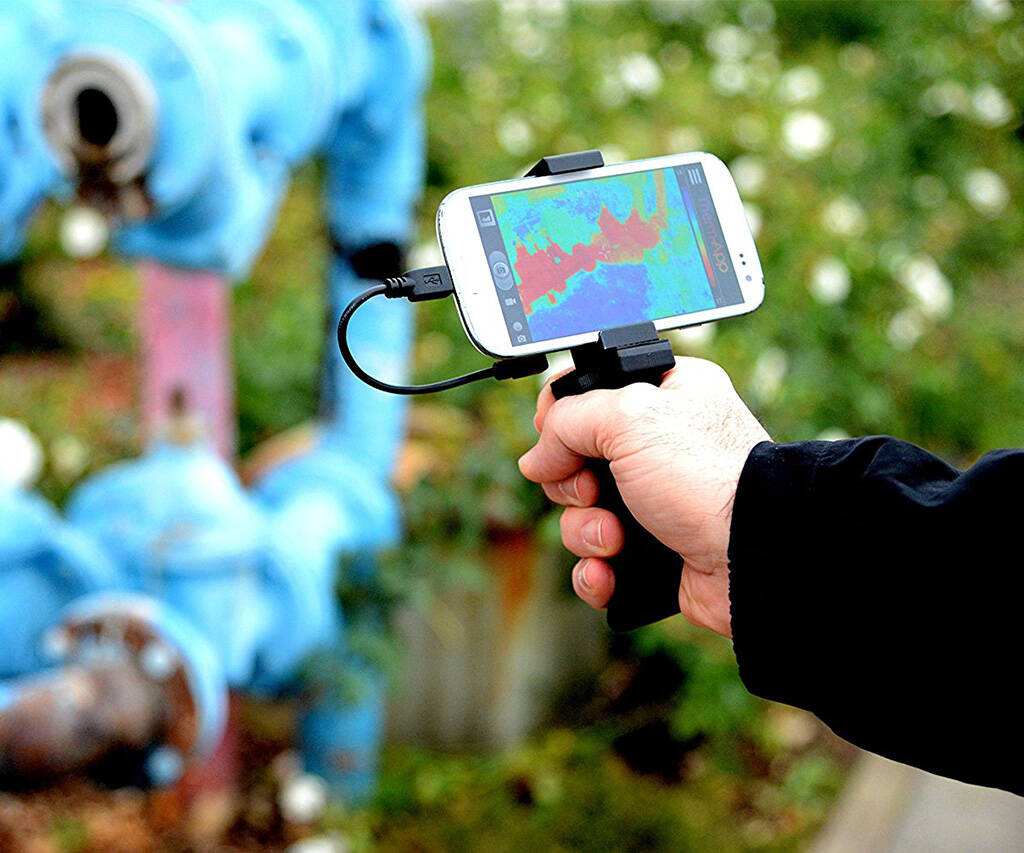 Therm-App Thermographic Imaging Device - http://coolthings.us