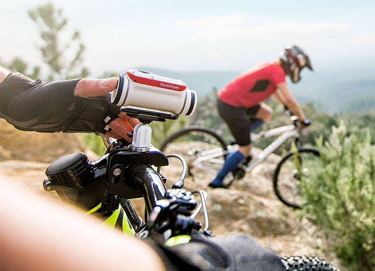 The TomTom Bandit Action Camera - coolthings.us