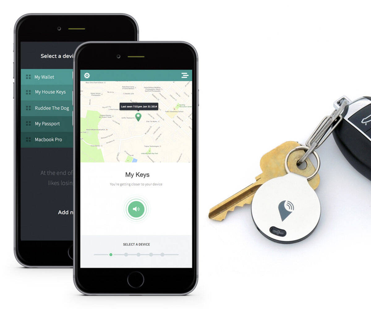 TrackR bravo Personal item Tracker - http://coolthings.us