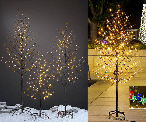 Twinkling Star Decoration Light Tree - http://coolthings.us