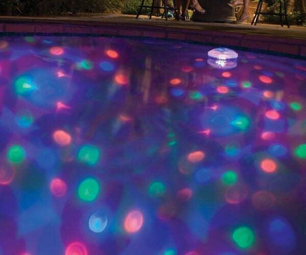 Underwater Disco LightShow - http://coolthings.us