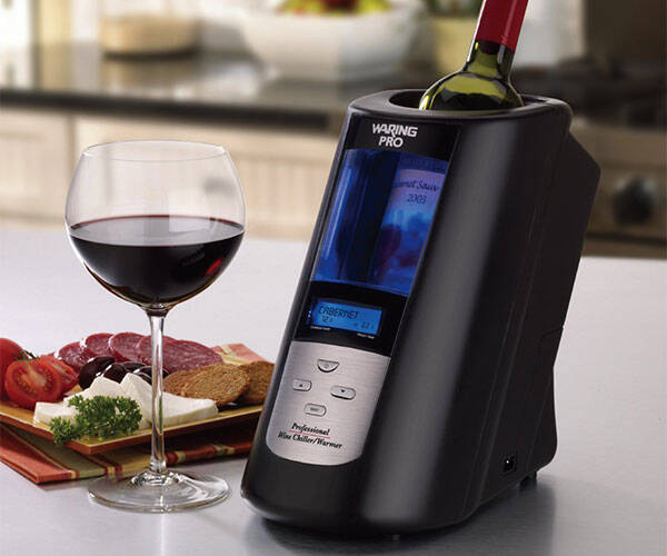 Waring Pro Wine Chiller Warmer - http://coolthings.us