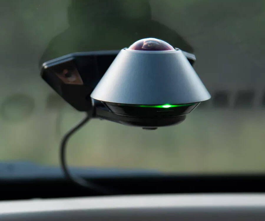 360-degree Car Dashboard Security Camera - http://coolthings.us