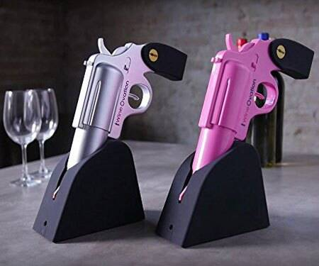 Wine Gun Electric Wine Opener - http://coolthings.us