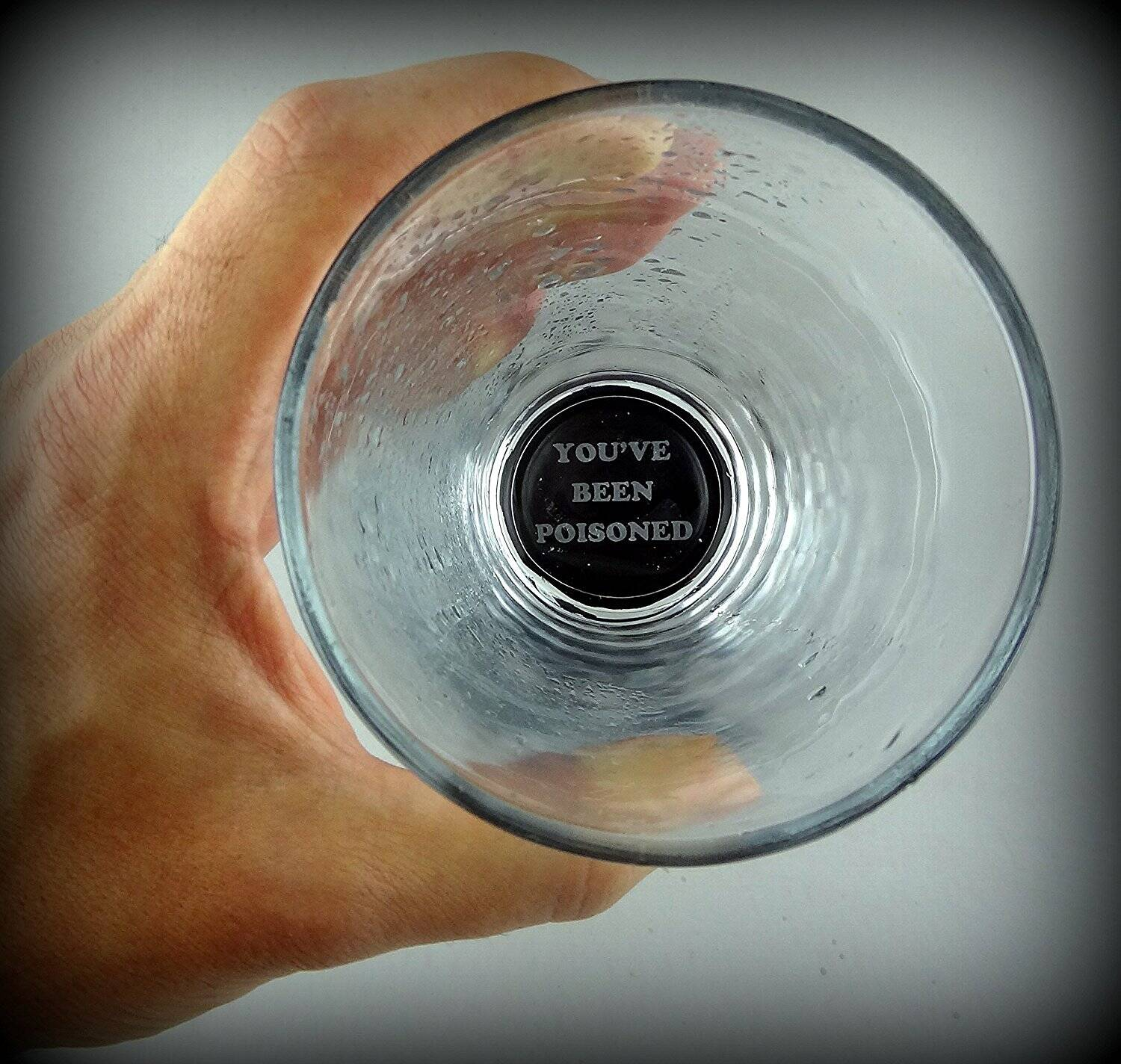You Have Been Poisoned Glass - http://coolthings.us