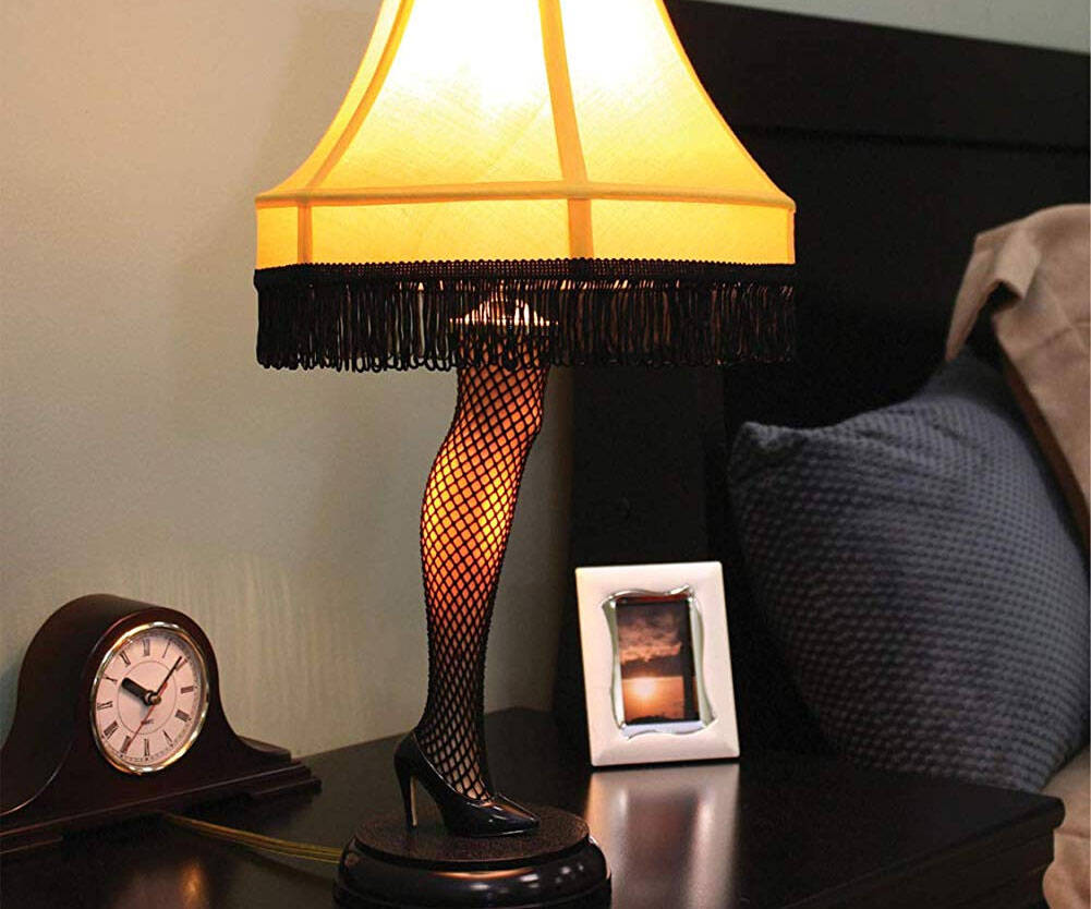 A Christmas Story Leg Lamp - http://coolthings.us