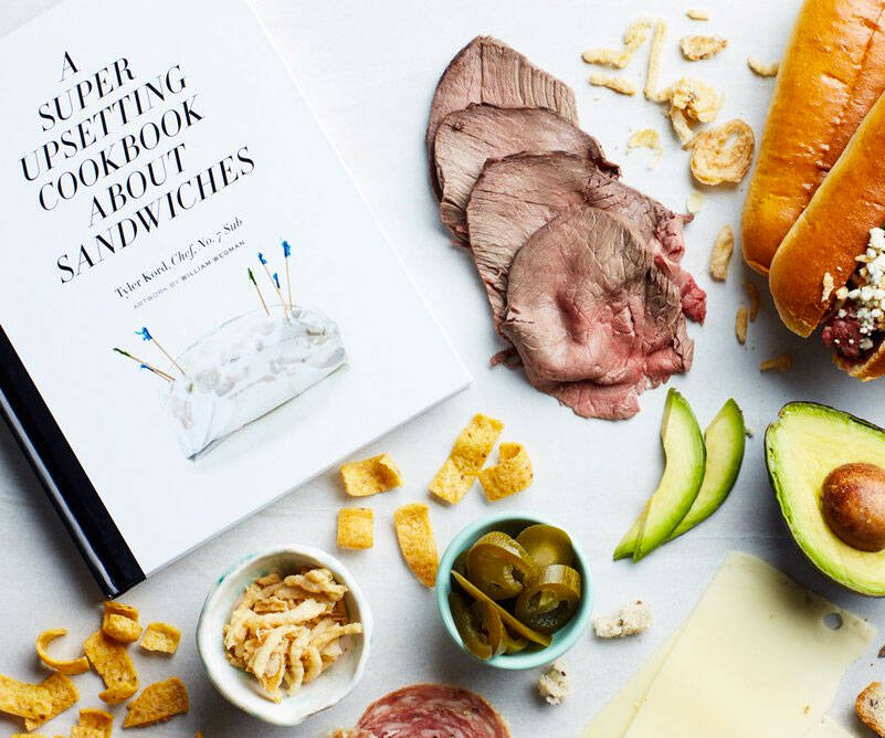A Super Upsetting Cookbook About Sandwiches - http://coolthings.us