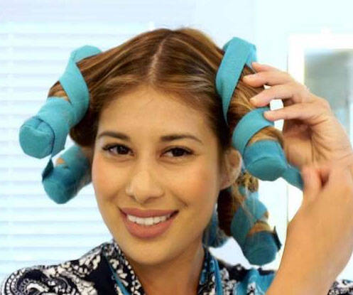 Night Time Heat Free Hair Curlers - coolthings.us