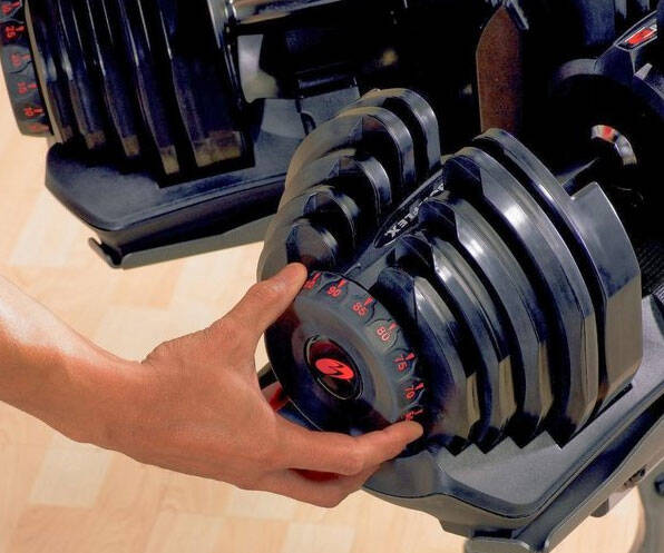 Adjustable Dumbbells - http://coolthings.us