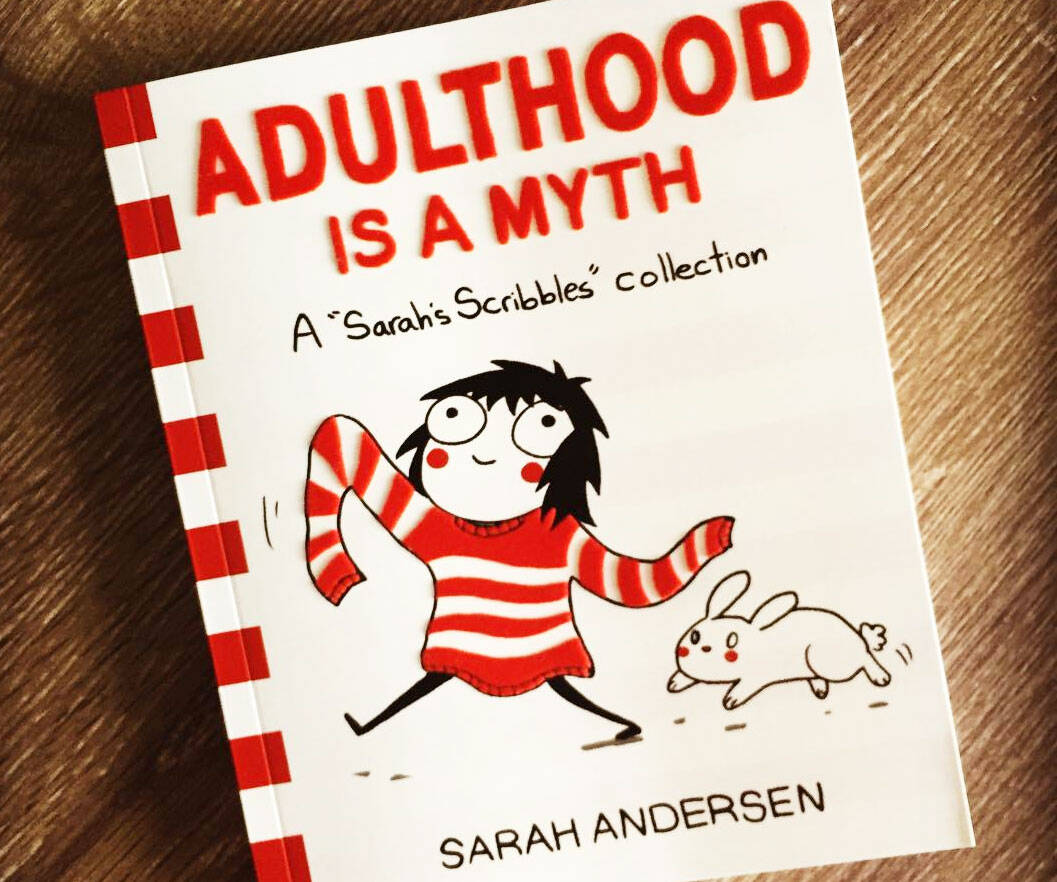 Adulthood Is A Myth Book - http://coolthings.us