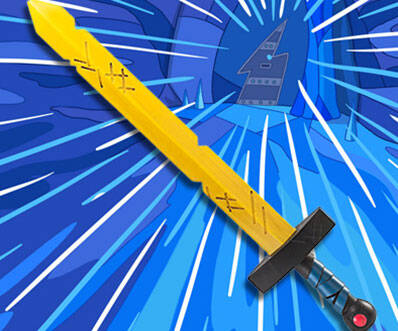 Adventure Time Sword - http://coolthings.us