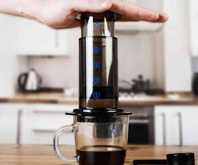 AeroPress Coffee & Espresso Maker - http://coolthings.us