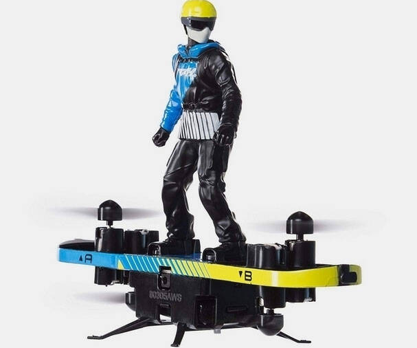 R/C Flying Hoverboard - http://coolthings.us