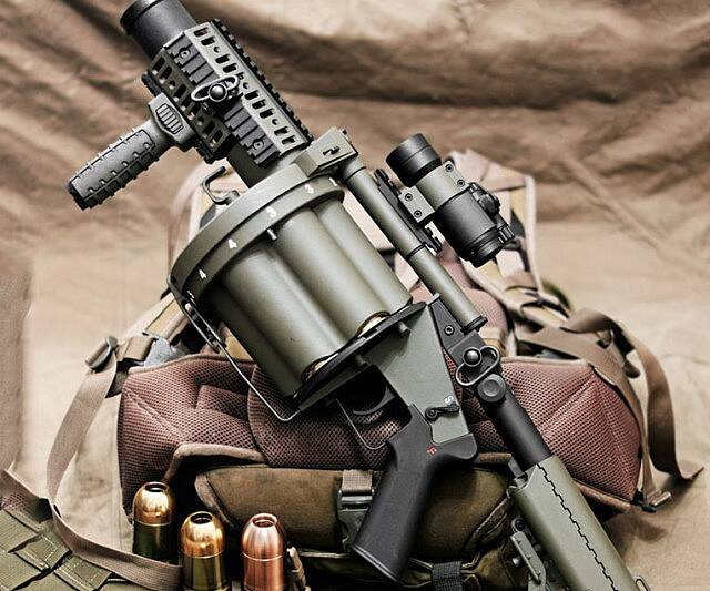 Airsoft Grenade Launcher - coolthings.us