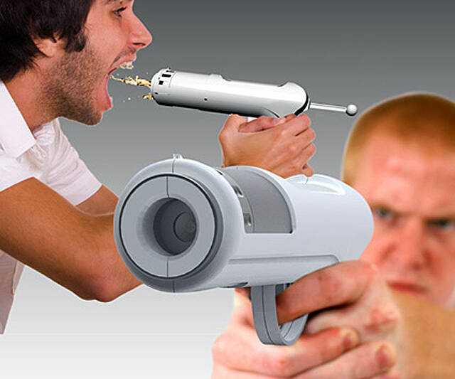 Alcohol Shot Gun - http://coolthings.us